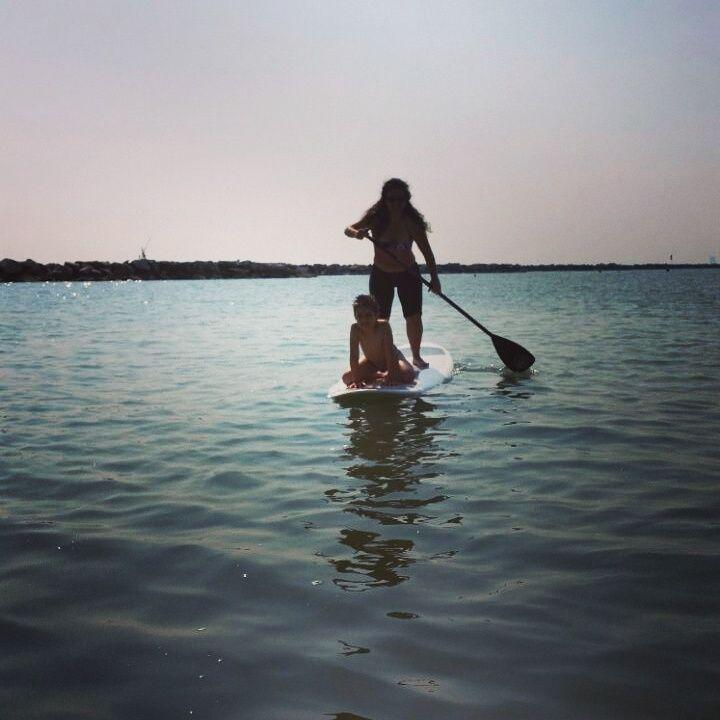 Stand Up Paddle con bimbo a bordo