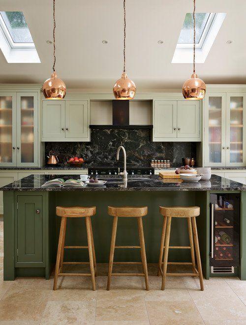 Best The Best In Dark Green Kitchen Trends Dark Green Kitchen 640 x 480