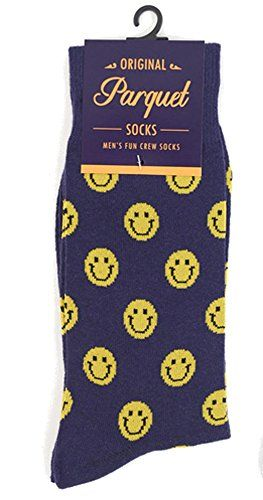 ab153be77942e Men's Hipster Yellow Smiley Emoji Happy Smile Face Novelty Crew Dress Socks  ** Be sure to check out this awesome product.(It is Amazon affiliate link)  # ...