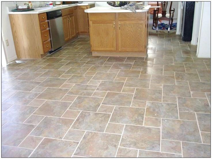 97 best Floors images on Pinterest Porcelain tile, Flooring - kitchen tile flooring ideas