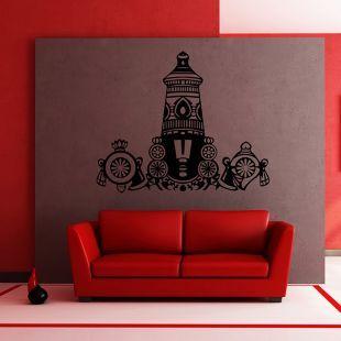 Buy Creative Width Balaji Wall Sticker Black Online in India - CR771DE61KRAINDFUR - FabFurnish.com