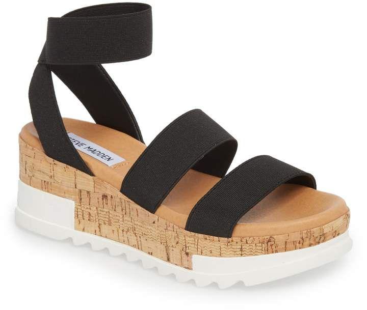 5750a4acbff Women's Steve Madden Bandi Platform Wedge Sandal, Size 11 M - Brown ...