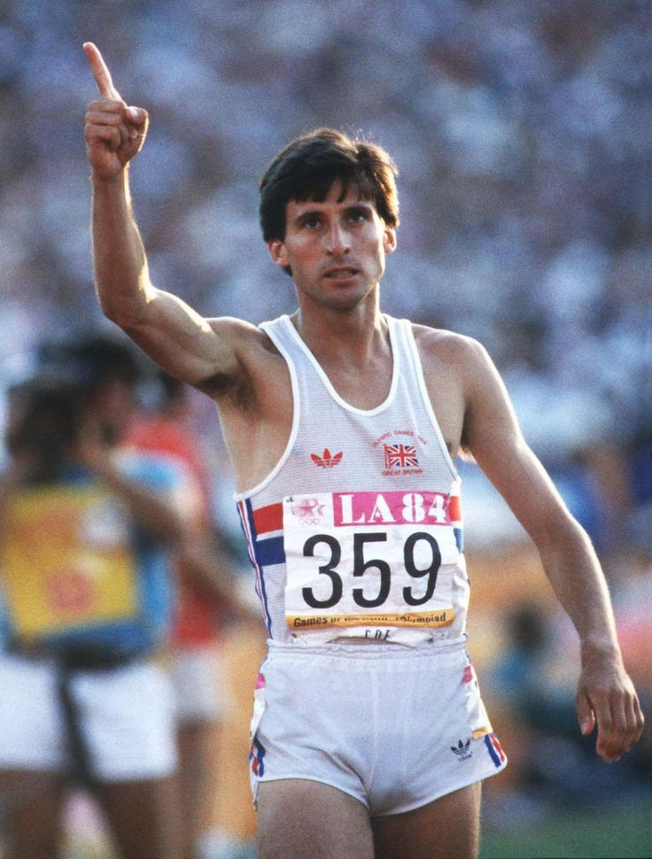 Seb Coe (Eng). Middle distance runner. Olympic 1500m Champion 1980,84. European Athletics Championships 800m winner 1986.
