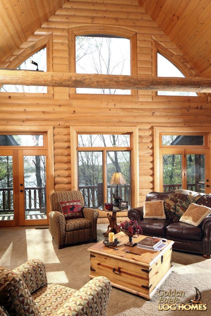 26 top photos ideas for log cabin design home design ideas for Log cabin style house