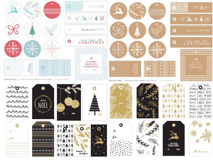 Sweet home: Для печати: бесплатные ярлыки на новогодние подарки