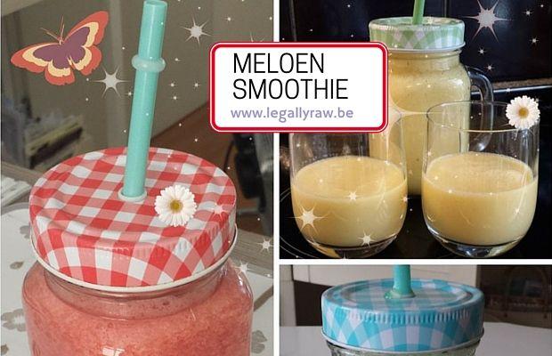 Ik ben dol op Meloensmoothie! Ze zijn heerlijk met dit warme weer maar ook heel gezond! http://legallyraw.be/meloensmoothie/