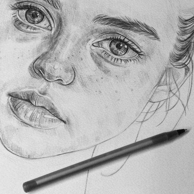 "11.5k Likes, 37 Comments - Tomasz Mro (@tomaszmroart) on Instagram: ""A wip in biro, I always find using biro so relaxing, cross-hatching is super calming too ♥ 