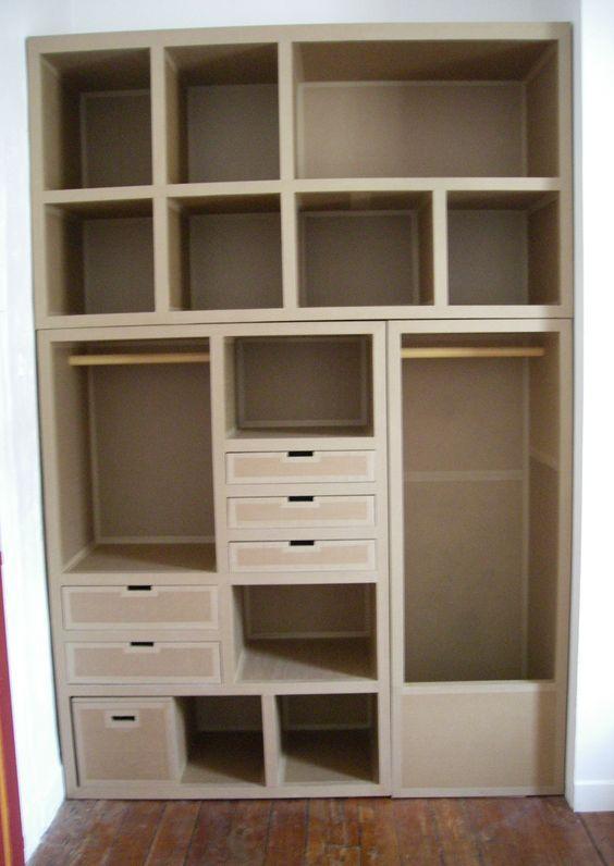 Pinterest/mobilier-carton-sur-mesure.com
