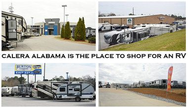 Calera, Alabama now has four RV dealerships within three miles of each other making it a great place to shop for an RV.