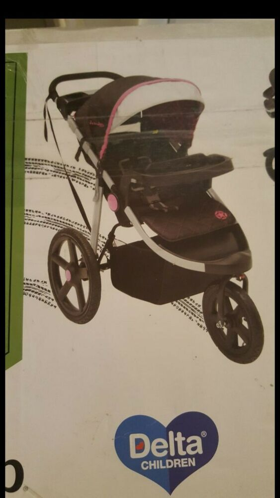J Is For Jeep Adventure All Terrain Jogging Stroller Berry Tracks