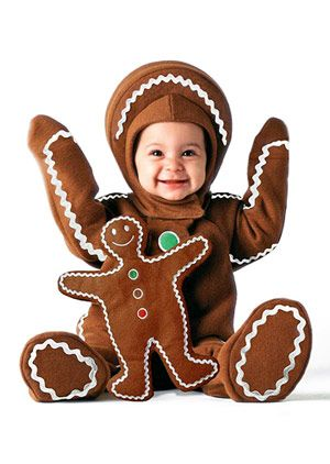 Best Store-Bought Halloween Costumes for Babies and Toddlers: Gingerbread Baby (via Parents.com)