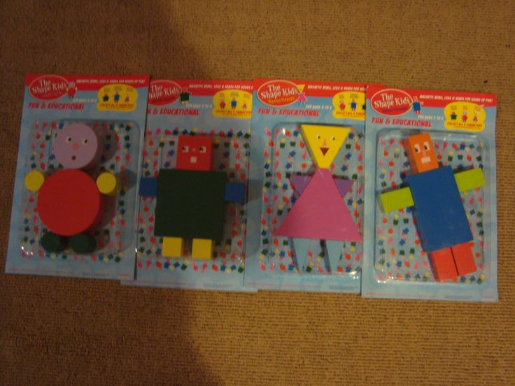 Packaged, sold separately, www.theshapekids.com