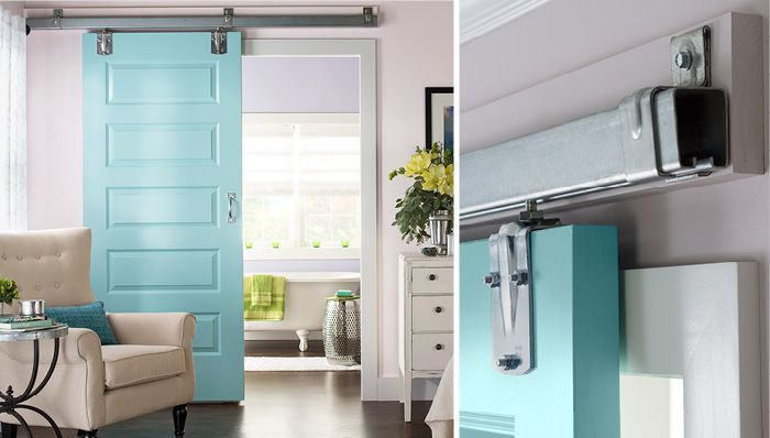 DIY:  How to Fit and Hang a Sliding Interior Door - great tutorial + video - via Lowes