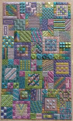 Needle Delights Originals(Kathy Rees), charted needlepoint - took this class…