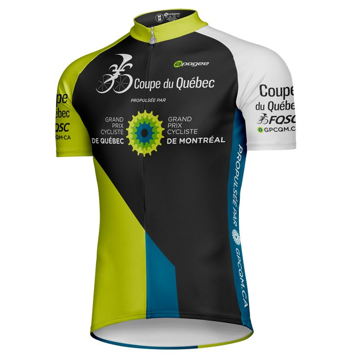 Cycling jersey - Designed and made by Apogee Sports.   Client : FQSC