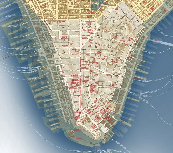 Best Maps Images On Pinterest City Maps Map Design And - Manhattan us map