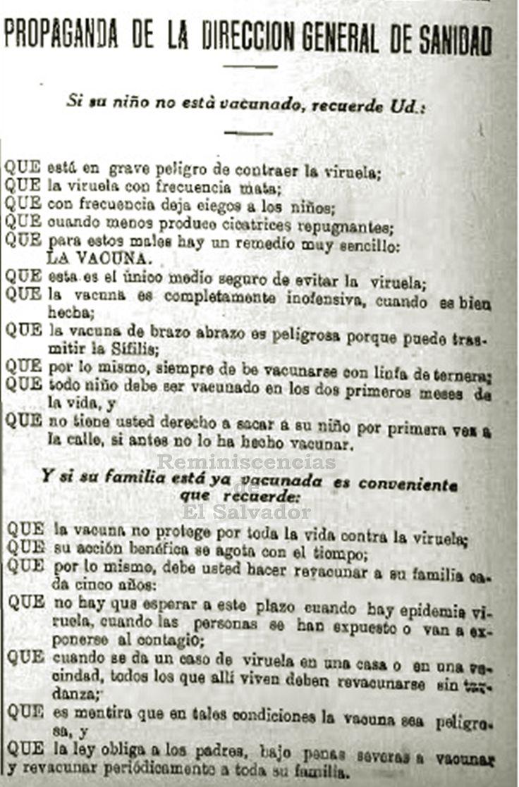 1930 propaganda de la direcci n general de sanidad en torno a la vacuna contra la viruela en 1930 se aprueba un nuevo c digo de sanidad