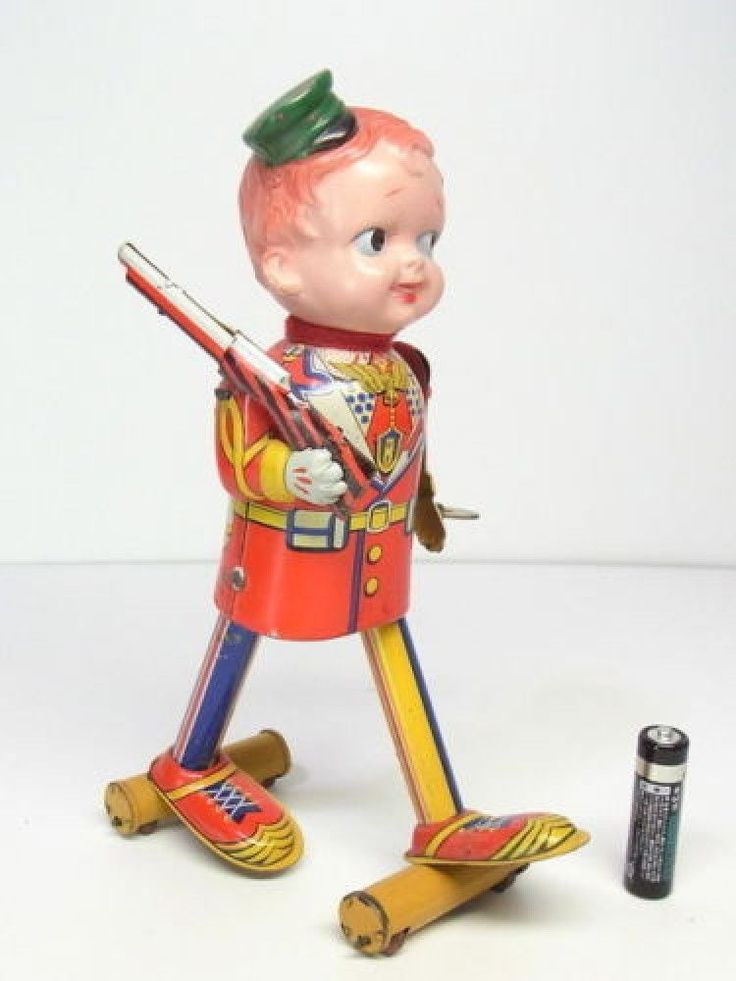 FUKUDA TIN SOLDIER  MADE IN JAPAN