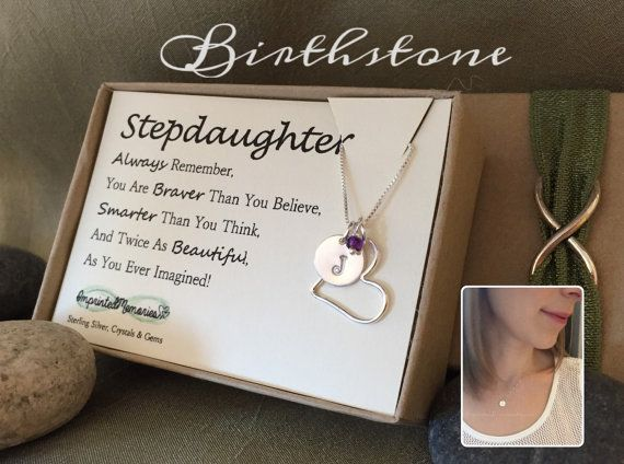 Stepdaughter gift  birthday gift for by ImprintedMemories on Etsy