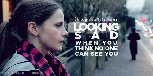 Molly Hooper. Obviously she'd have to know what that feels like in order to notice someone else doing it <-- Right in the feels!