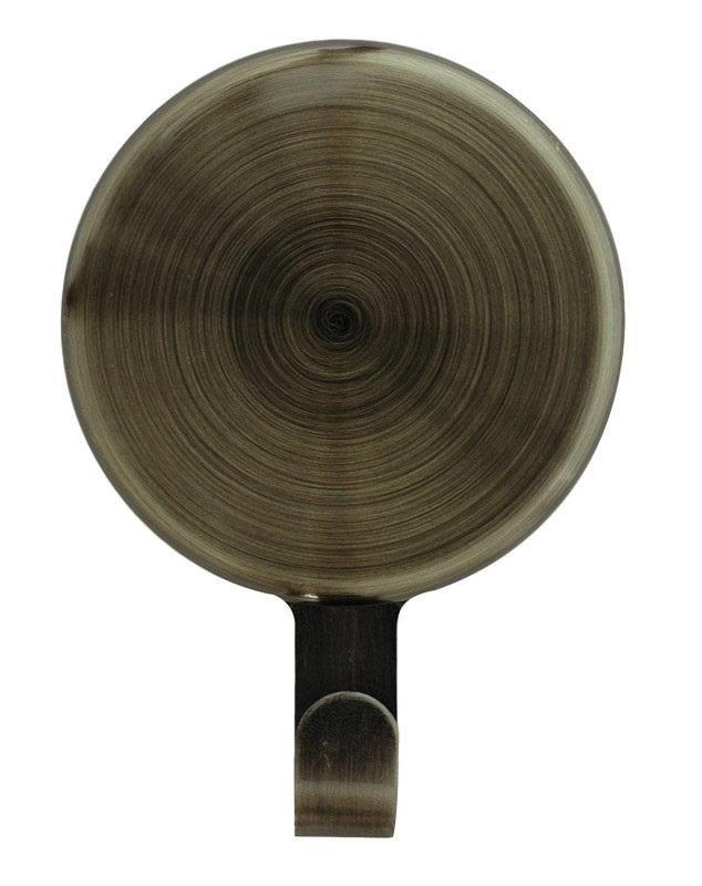 Haute Decor MWH214 Magnetic Wreath Hanger, Antique Brass