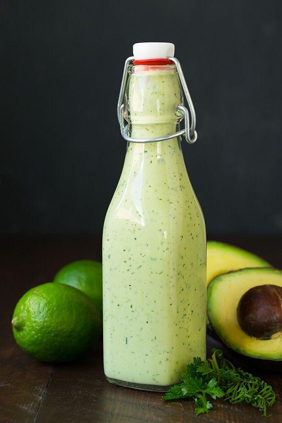 Avocado Greek Yogurt Ranch Dressing | Cooking Classy