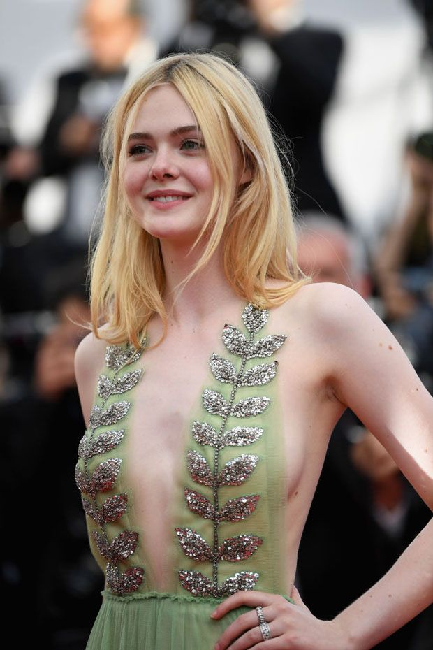 'How To Talk To Girls At Parties' Cannes Film Festival Premiere - Red Carpet Fashion Awards