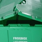 """""""Cardboard boxes can be hard to find and time-consuming to transport and assemble,"""" said Cowan, Twin CitiesFROGBOX partner.  """"When you are done moving and unpacking, you still have to figure out how to get rid of the boxes at a time when we want to find ways to throw away less.  FROGBOX is one way to make moving less stressful."""" Read More:  http://frogbox.com/blog/2011/08/green-is-the-new-brown-in-the-moving-industry-with-frogbox-in-town"""
