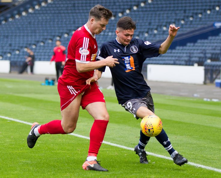 Queen's Park's Ewan MacPherson in action during the SPFL League One game between Queen's Park and Albion Rovers