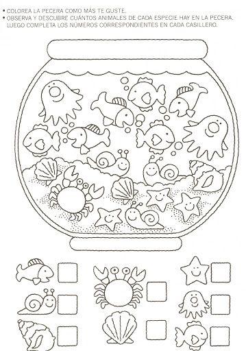 17 mejores ideas sobre actividades de matem ticas para for Actividades para jardin de infantes para imprimir