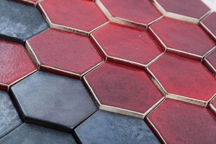 Hexagonum 3D handmade tiles