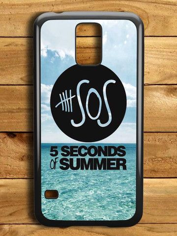 5 Second Of Summer Ocean Logo Samsung Galaxy S5 Case