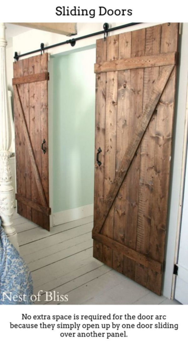 Sliding Doors Produce Your Own Stylish Brighter Room Designs Using Thermally Insulated Slidi Diy Sliding Door Diy Sliding Barn Door Farmhouse Interior Design