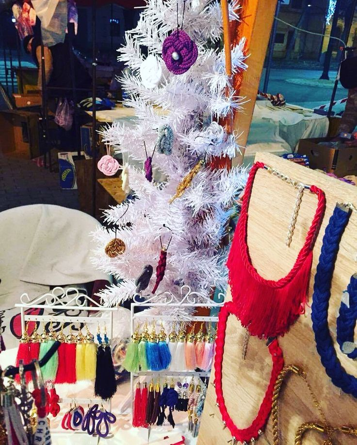 Christmas time Handmade necklaces,earrings, bracelets, keychainschristmas tree
