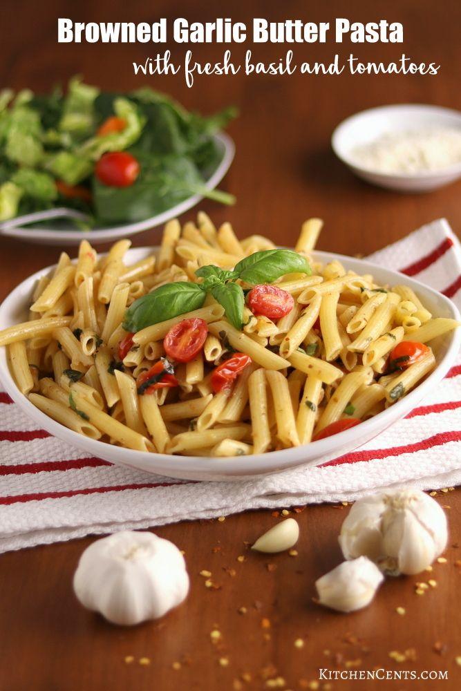 Browned Garlic Butter Pasta Recipe Garlic Butter Pasta Butter