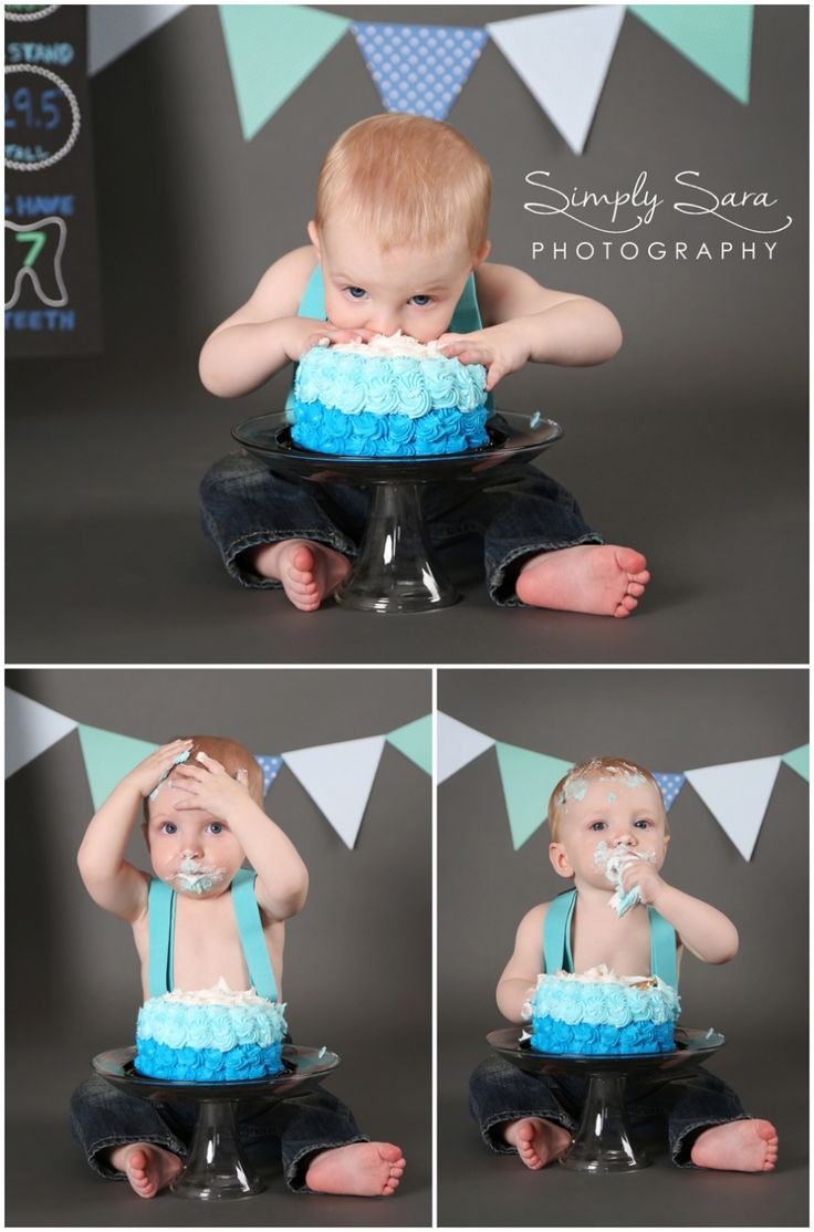 1 Year Old Boy Photo Shoot Ideas & Poses Cake Smash