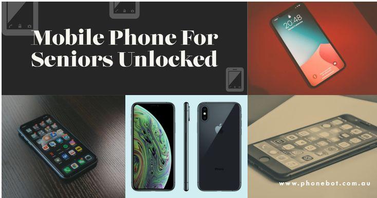 Mobile Phone For Seniors Unlocked in 2020  Phone, Refurbished iphones, Mobile phone
