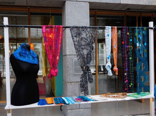 stall Uli Baysie at the designers open 2