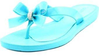 GUESS Tutu Women Open Toe Synthetic Blue Flip Flop Sandal.