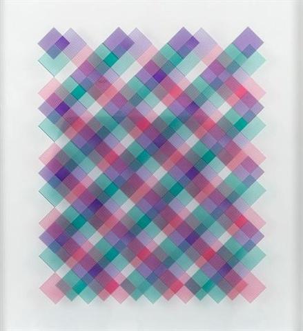 "Sydney Cash ""Optical Glass Panel"""