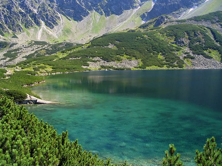 Large Polish Lake - Tatry, Malopolskie  <3 Polska