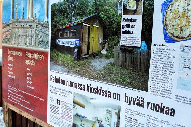 Raholan kioski #tampere #finland
