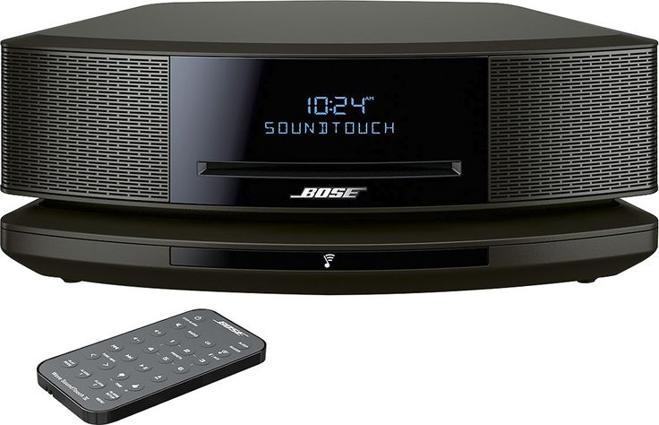 Bose® - Wave® SoundTouch® Music System IV - Black - Front Zoom