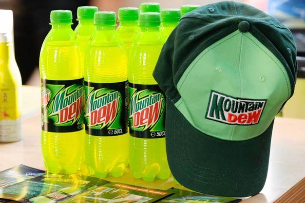 Mountain Dew, la boisson de référence pour un petit coup de boost sans caféine !
