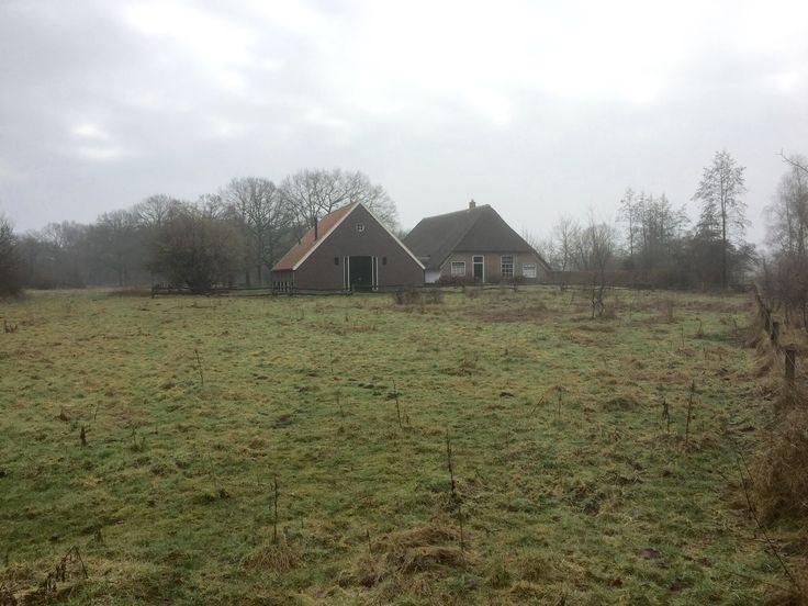2017-02-04 Boerderij Holterman in natuurgebied Hengforden nabij Diepenveen