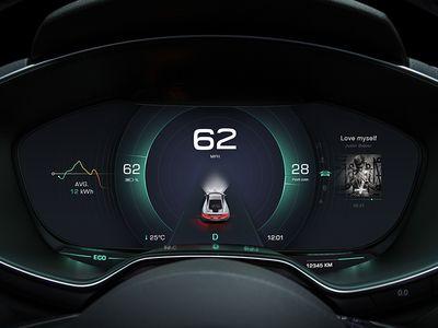 New Design in Car Dashboard No.1