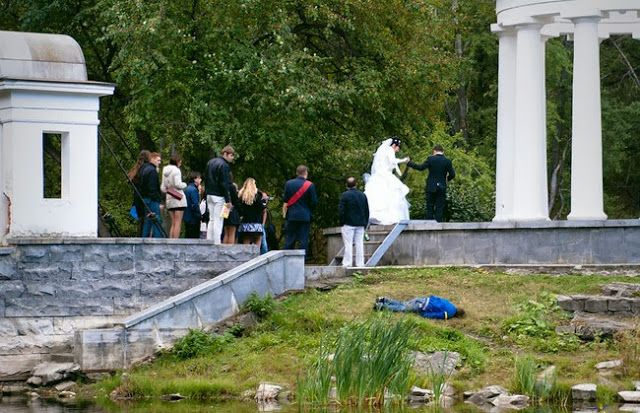 RUSSIA WTF: Russia WTF - Typical Russian Wedding