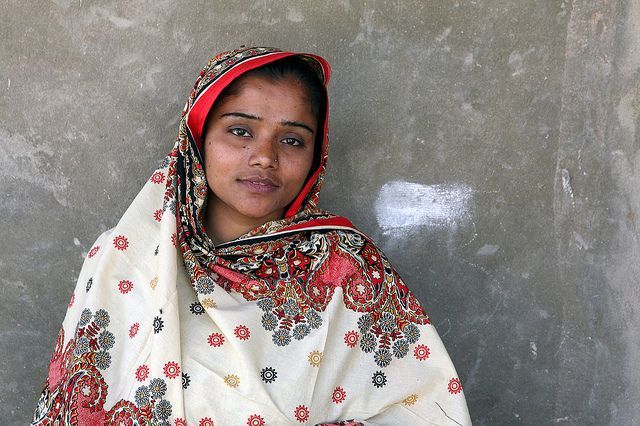 "Safia Bhatti, teaching assistant, Pakistan. ""I am very thankful to Oxfam/ IRC for helping me to earn money. The salary is helping me to contribute to my family, I can buy clothes for me and my child – I have one baby who is seven months. I have hopes that my daughter will get even better education than me, that she grows up and wants to be an engineer or doctor."" We're supporting girls' education in Pakistan. http://www.oxfam.org/en/development/pakistan/girls-education-pakistan-photo-gallery"