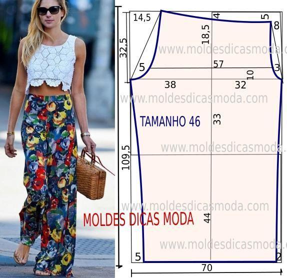 MOLDE DE CALÇAS - Tam 46