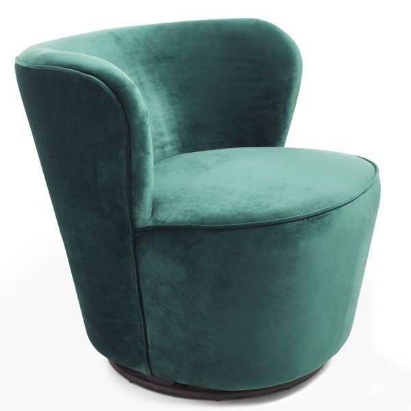 Strange Modern Velvet Swivel Chair Wisteria Chairs In 2019 Creativecarmelina Interior Chair Design Creativecarmelinacom
